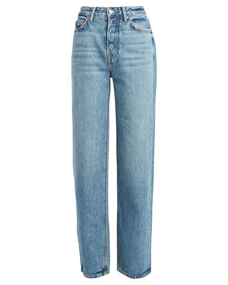 Mica High-Rise Jeans, LIGHT INDIGO DENIM, hi-res