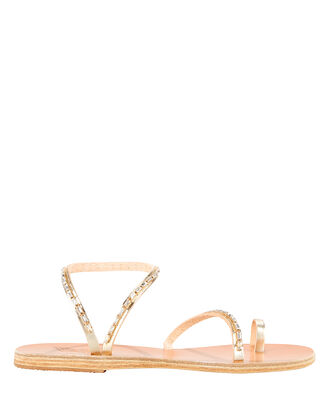 Apli Eleftheria Embellished Sandals, GOLD, hi-res