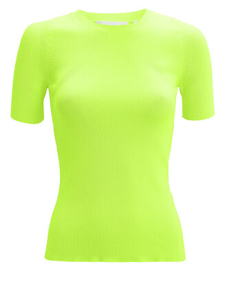 Neon Knit Top, NEON GREEN, hi-res