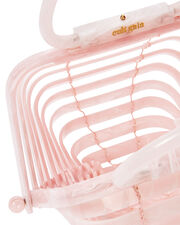 Lilleth Acrylic Small Bag, PINK, hi-res