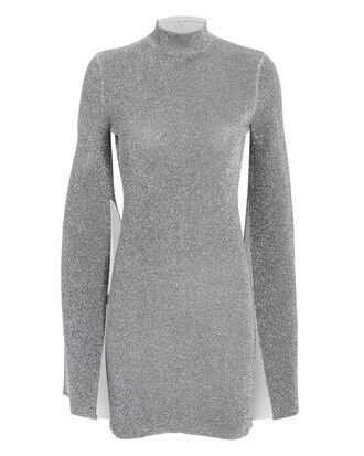 Alula Mini Dress, SILVER, hi-res