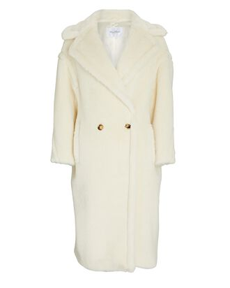 Tedgirl Double-Breasted Coat, IVORY, hi-res