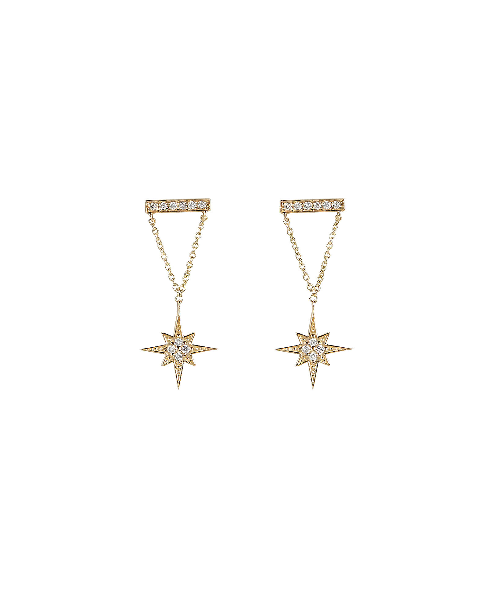 Starburst Drop Earrings, GOLD, hi-res