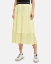 Kennedy Midi Skirt, YELLOW, hi-res