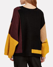 Justus Colorblocked Wool-Blebnd Sweater, MULTI, hi-res