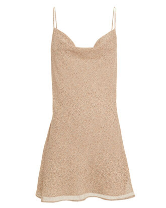 Vera Mini Dress, BEIGE LEOPARD, hi-res