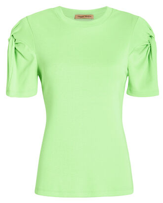 Knot On Jersey T-Shirt, GREEN, hi-res