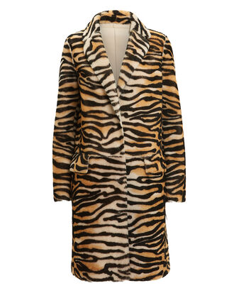 Tiger Reversible Long Coat, TIGER/TAN, hi-res