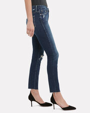 High-Waisted Looker Close To The Edge Jeans, DARK WASH DENIM, hi-res