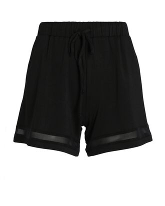 Overland Paneled Sweat Shorts, BLACK, hi-res