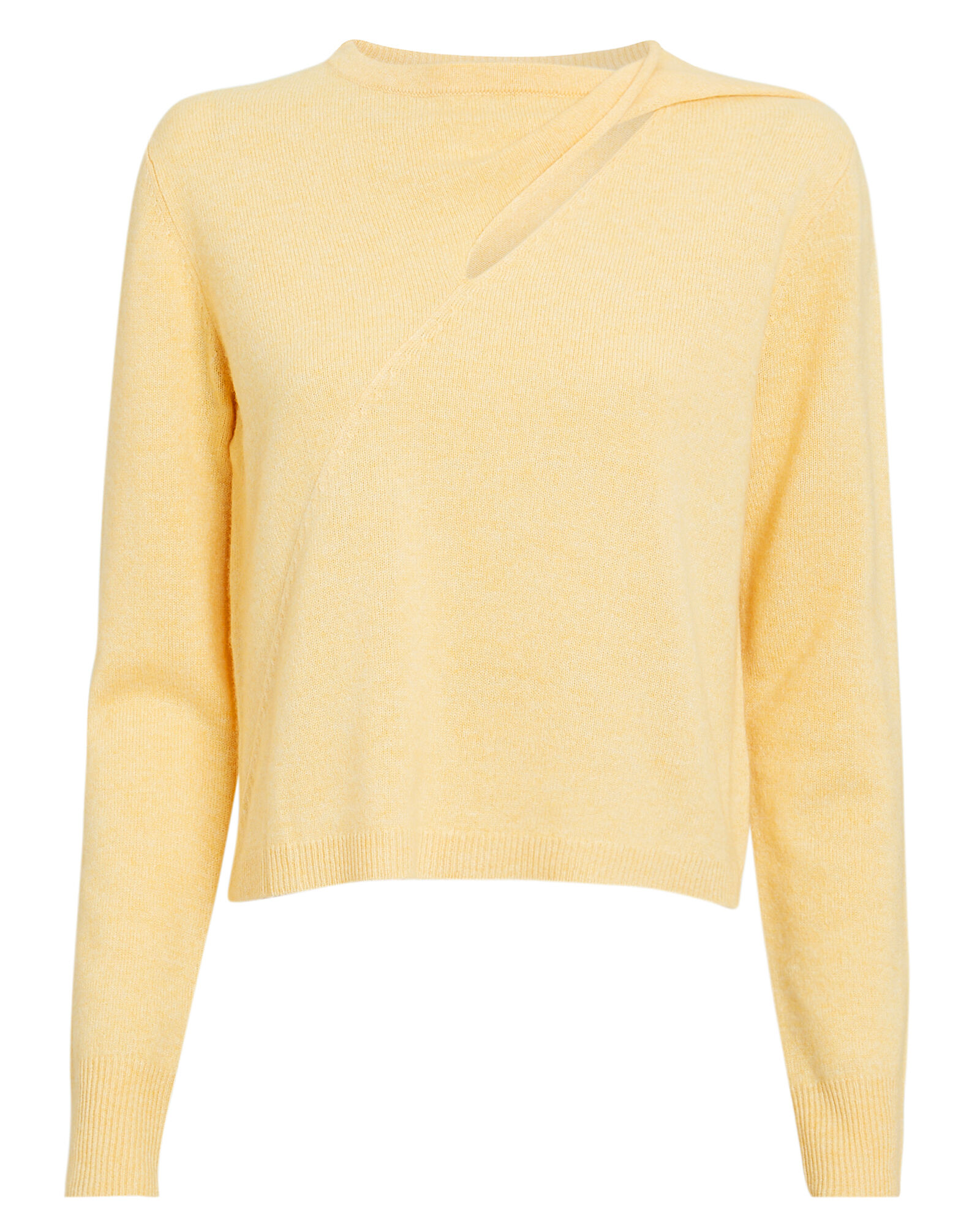 Lawson Sweater, YELLOW, hi-res