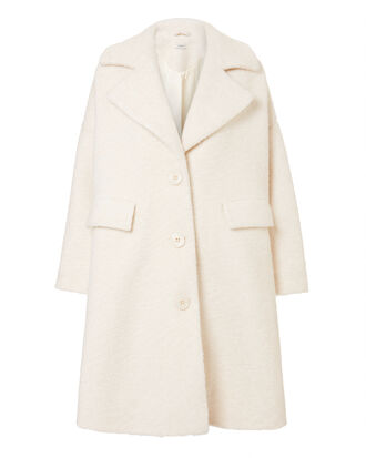 Fenn Swing Ivory Coat, IVORY, hi-res