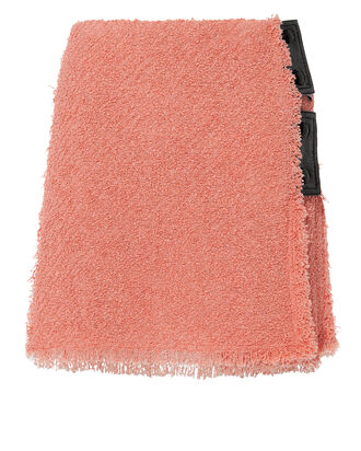 Terry Tweed Mini Skirt, BLUSH, hi-res
