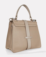 Aby Medium Leather Day Bag, GREY, hi-res