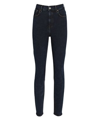 Kendall High-Rise Skinny Jeans, BLACK, hi-res
