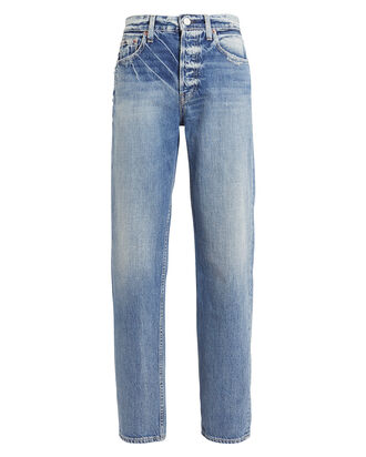 Blake High-Rise Straight Leg Jeans, DENIM-LT, hi-res