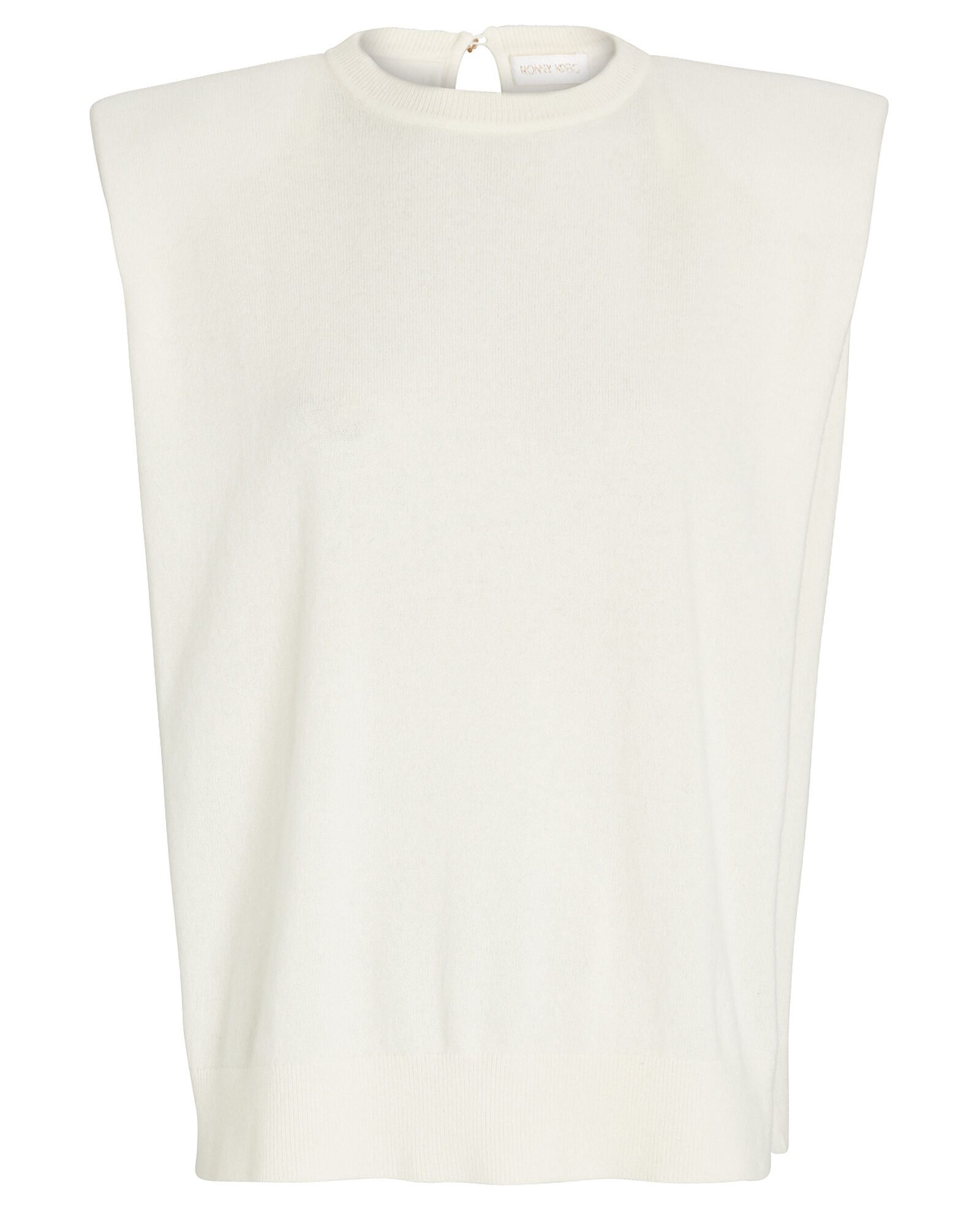Jaitlin Padded Shoulder Tank Top, , hi-res