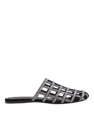 Alison Diamante Cage Slides, BLACK, hi-res