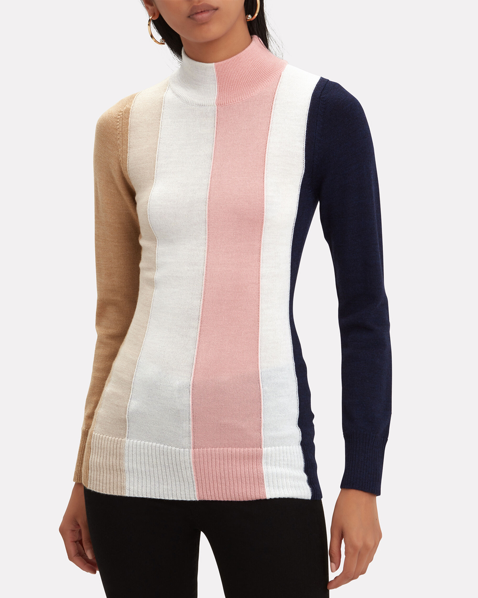 Dolly Tonal Striped Top, MULTI, hi-res