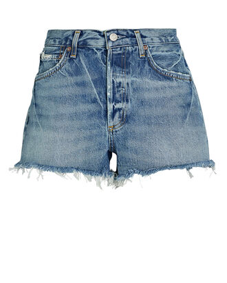 Parker Cut-Off Denim Shorts, DARK SWAPMEET, hi-res