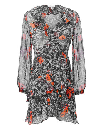 Vilia Wrap Dress, MULTI, hi-res