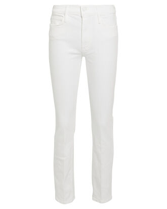 The Dazzler Slim Straight-Leg Jeans, WHITE, hi-res