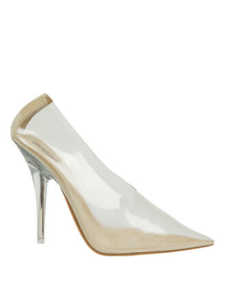 PVC Clear Pumps, CLEAR, hi-res