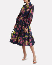 Niki Wrap Dress, MULTI, hi-res