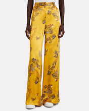 Pilar Paisley Wide-Leg Pants, MULTI, hi-res