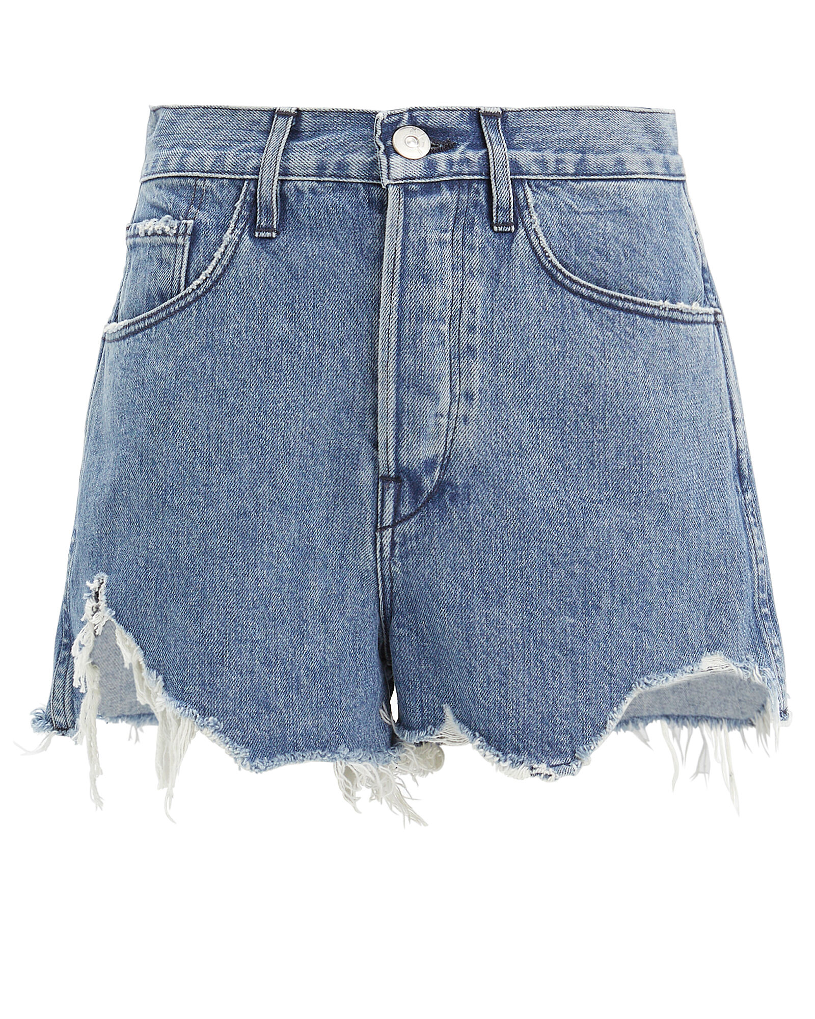 Carter Cut-Off Denim Shorts, DENIM, hi-res