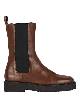 Palamino Leather Chelsea Boots, BROWN, hi-res
