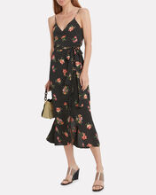 Nikki Sleeveless Wrap Dress, MULTI, hi-res