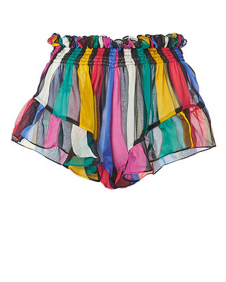 Rainbow Ruffle Shorts, MULTI, hi-res
