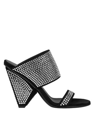 Lory Crystal Embellished Sandals, BLACK/CRYSTAL, hi-res