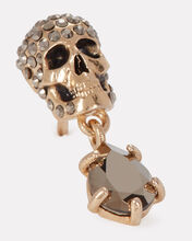 Pavé Skull Crystal Drop Earrings, , hi-res