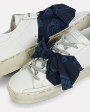 Hi Star Bandana Bow Sneakers, WHITE, hi-res