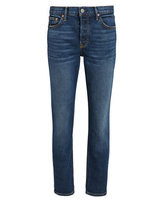 Yasmin Mid-Rise Jeans, MEDIUM BLUE DENIM, hi-res