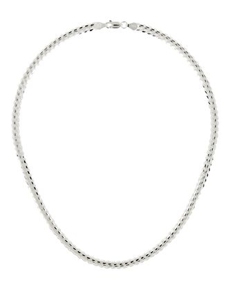 Rachel Curb Chain Necklace, SILVER, hi-res