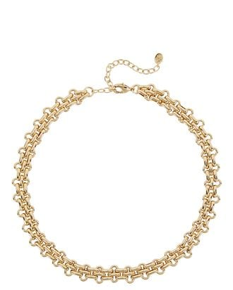 Marina Chain-Link Necklace, GOLD, hi-res
