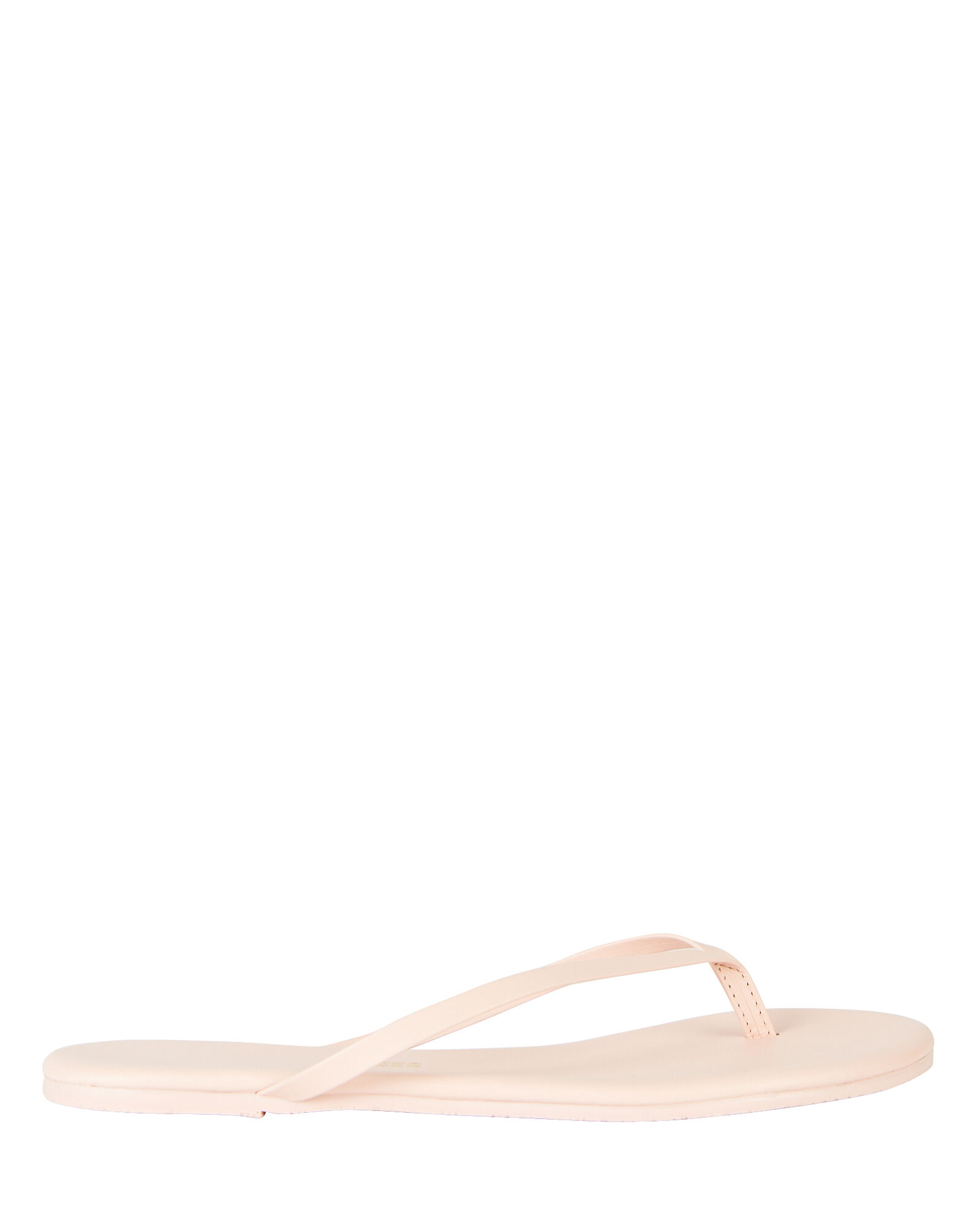 Solids Leather Flip Flops, PALE PINK, hi-res