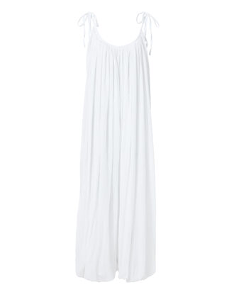 Balloon Harem Jumpsuit, WHITE, hi-res