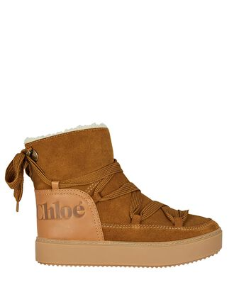 Charlee Suede Winter Ankle Boots, BEIGE, hi-res