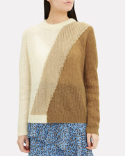 Alien Knit Sweater, TAN/IVORY, hi-res