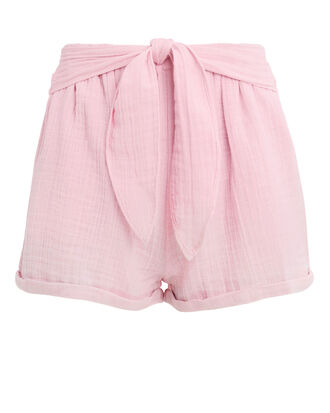 Maithili Tie Shorts, BLUSH, hi-res