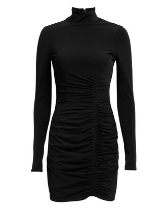 Alina Mini Dress, BLACK, hi-res