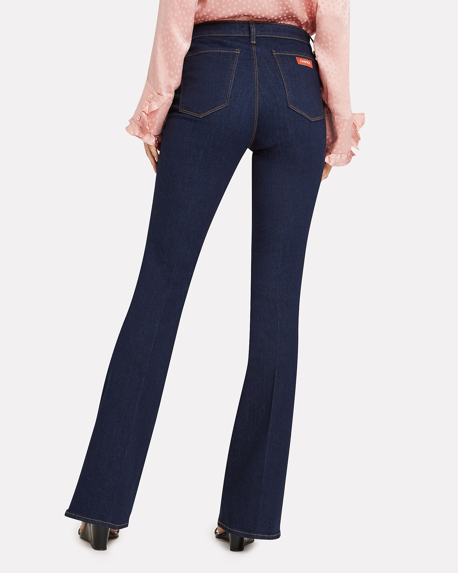 Joplin Flare Jeans, DARK DENIM, hi-res