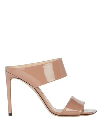 Hira 100 Patent Leather Sandals, BLUSH, hi-res