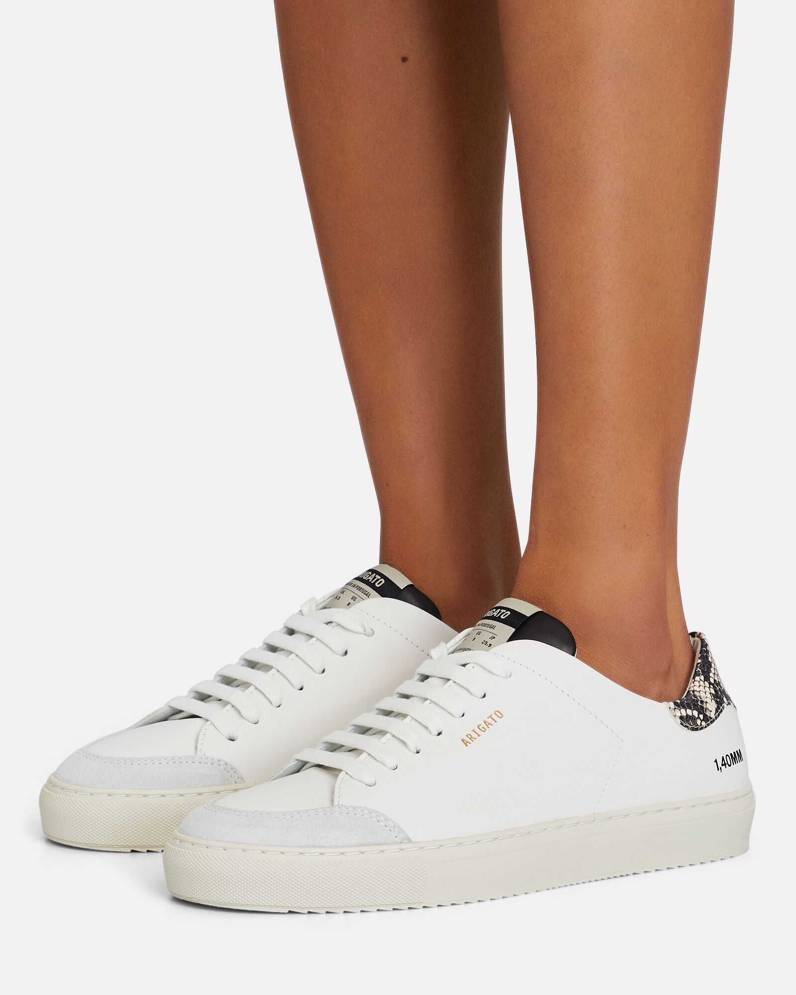 Clean 90 Triple Leather Sneakers, WHITE, hi-res