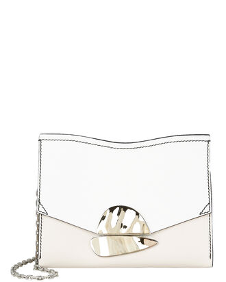 Curl Stone Pink Small Clutch, IVORY/BEIGE, hi-res