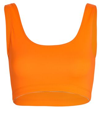 Go To Sports Bra, ORANGE, hi-res